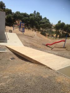 Playground bridge